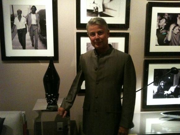 John Lyle at Donghia Showroom NYC