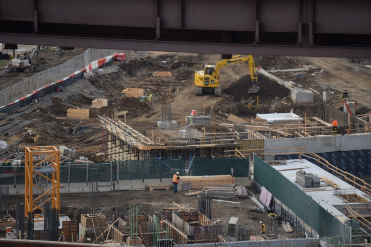Future Cornell Tech Campus Under Construction