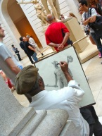 Artist at The Met